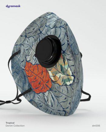 Duramask-DM006-Denim-KN95-Designer-Mask-with-Valve-No-Logo