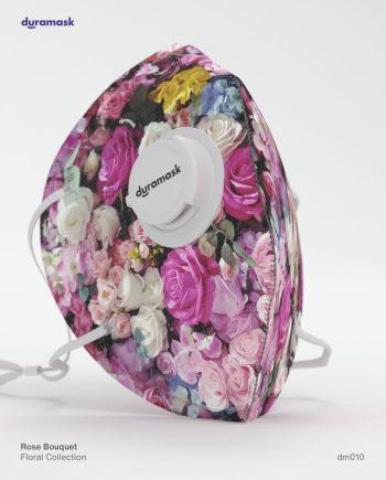 Duramask-DM010-Rose-Bouquet-KN95-Designer-Mask-with-Valve