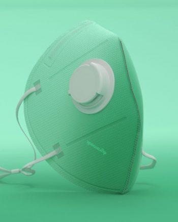 Duramask-DM019-Eden-KN95-Designer-Mask-with-Valve-Texture-No-Logo