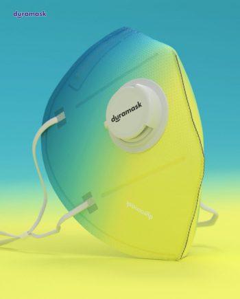 Duramask-DM020-Sunrise-KN95-Designer-Mask-with-Valve-Texture