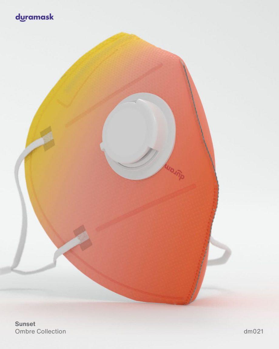 Duramask-DM021-Sunset-KN95-Designer-Mask-with-Valve-No-Logo
