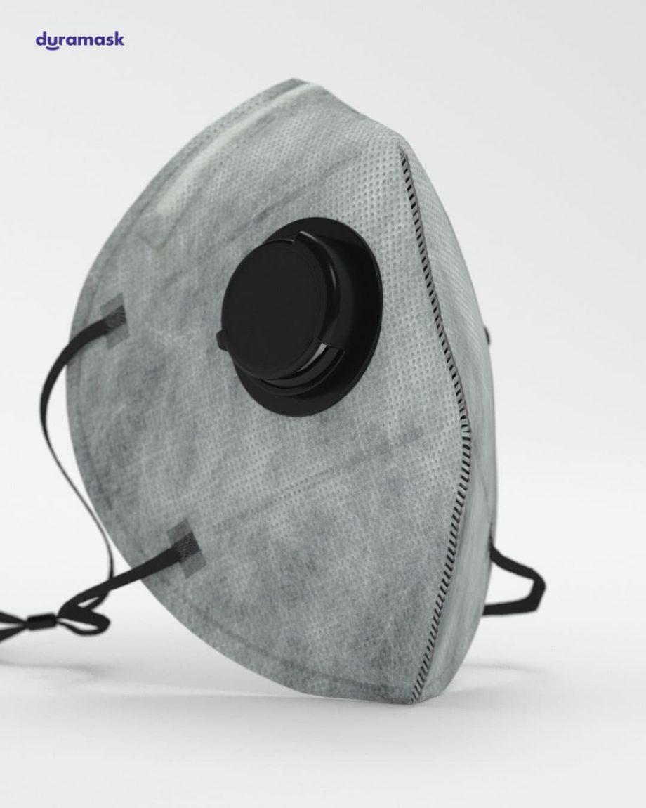 Duramask-DM026-Ultimate-Ggay-KN95-Designer-Mask-with-Valve-No-Logo