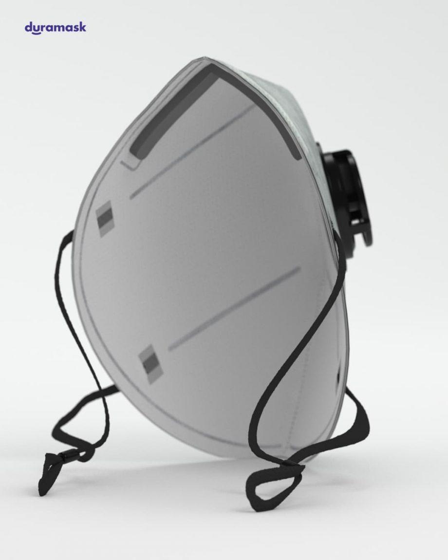 Duramask-DM026-Ultimate-Ggay-KN95-Designer-Mask-with-Valve-back