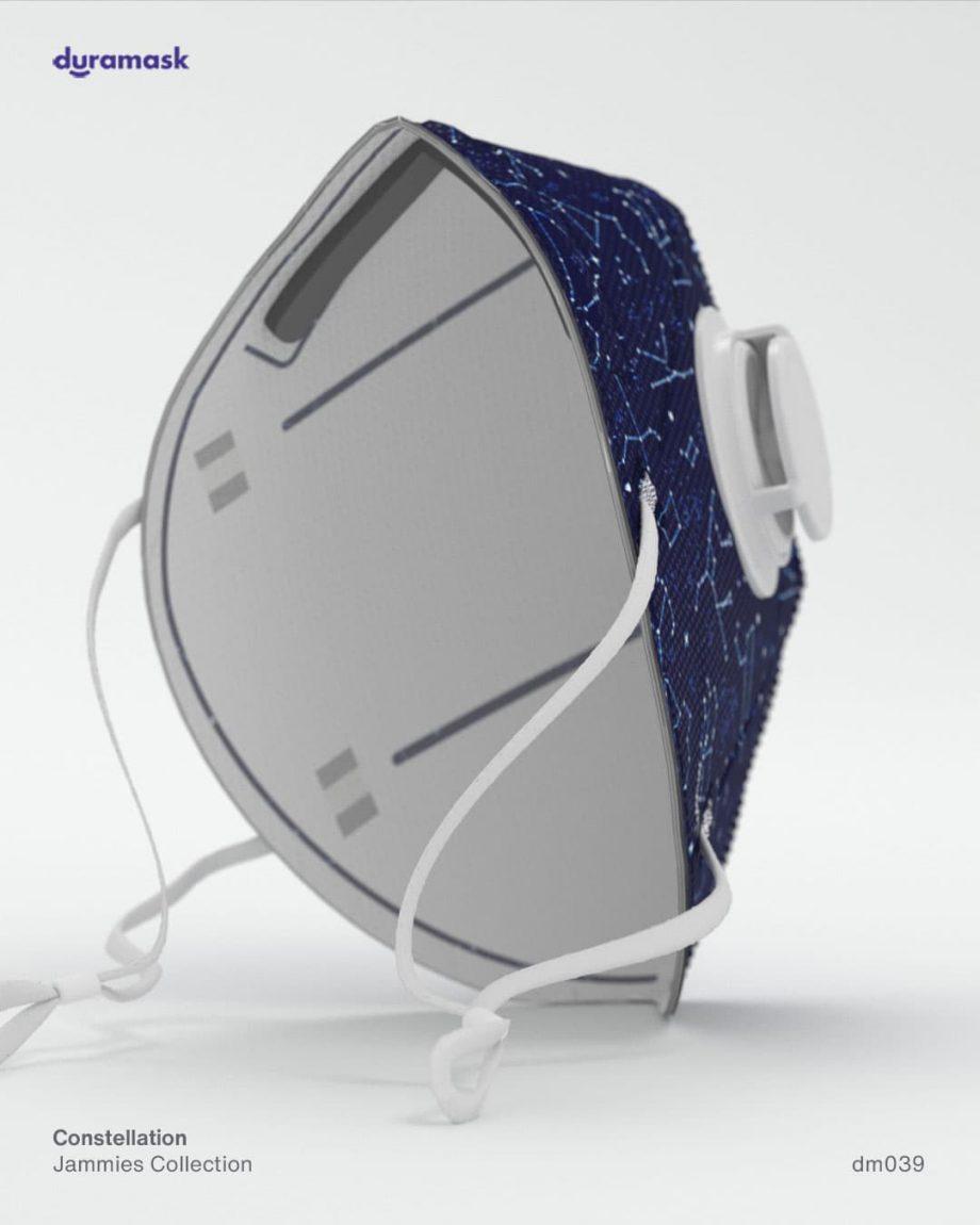 Duramask-DM039-Constellation-KN95-Designer-Mask-with-Valve-back